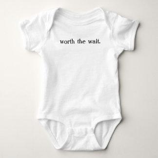 worth the wait t shirts