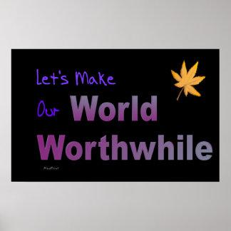 Worth-World Poster