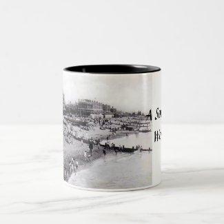 Worthing Souvenir Mug