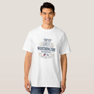 Worthington, Massachusetts 250th Ann White T-Shirt