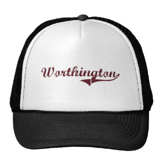 Worthington Minnesota Classic Design Cap
