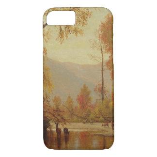Worthington Whittredge - Autumn on the Delaware iPhone 7 Case
