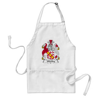 Wortley Family Crest Standard Apron
