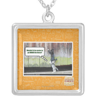 Wouldn't it be easier silver plated necklace