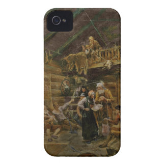 Wounded Vikings from Battle of Stiklestad iPhone 4 Case