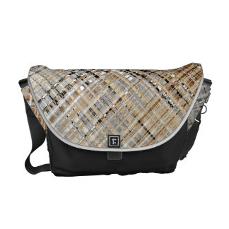 Woven Abstract Messenger Bags