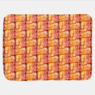 Woven Bacon Receiving Blankets