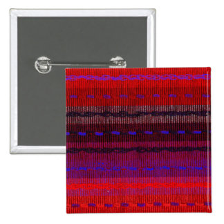 Woven Bands 15 Cm Square Badge