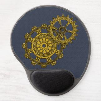 Woven Clockwork Gel Mousepad