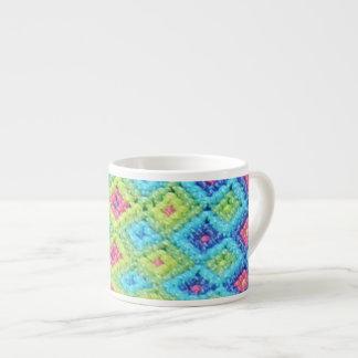Woven Diamonds Large Espresso Mug