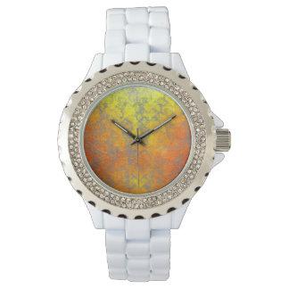 """""""Woven Harakeke"""" - Golden Butterfly Watch"""