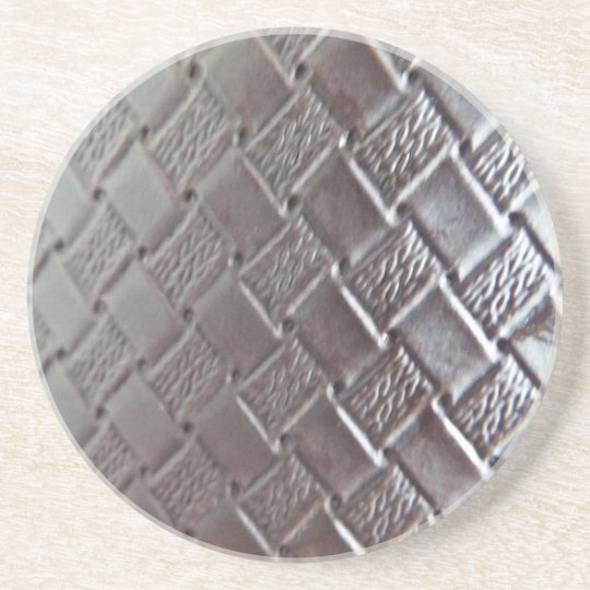Woven Leather Coaster