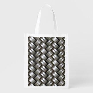 Woven metal pattern