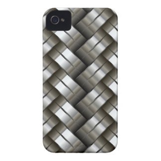 Woven metal pattern Case-Mate iPhone 4 case