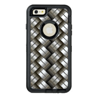 Woven metal pattern OtterBox iPhone 6/6s plus case