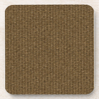 Woven Picnic Basket Drink Coaster