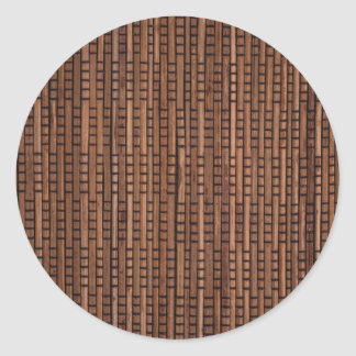 Woven Rattan Stickers