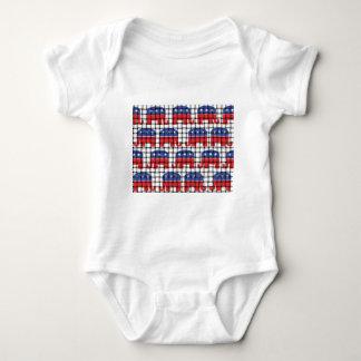 Woven Republican Elephants T Shirts