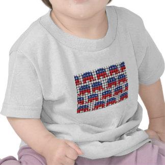 Woven Republican Elephants T-shirts