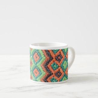 Woven Skyline Large Espresso Mug
