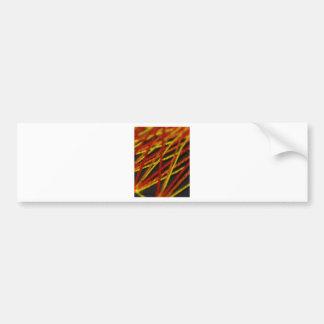 woven string reds bumper sticker