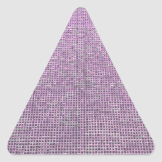 woven structure pink sticker