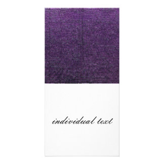 woven structure purple photo cards