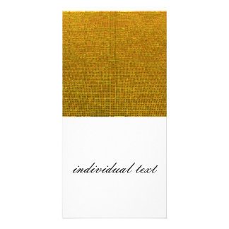 woven structure yellow photo cards