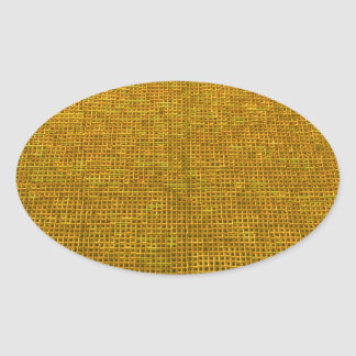 woven structure yellow sticker