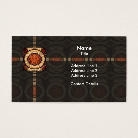 Woven Trivet Pattern Business Card