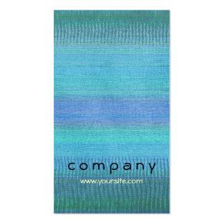 Woven Wonders Blue Business Card Templates