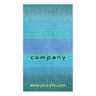 Woven Wonders Blue Pack Of Standard Business Cards