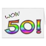 WOW 50TH BIRTHDAY