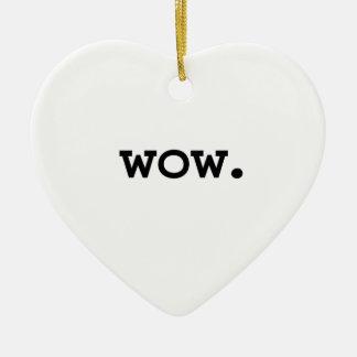 wow. ceramic heart decoration