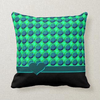 """""""Wow Chrome"""" Buttons Cushion"""