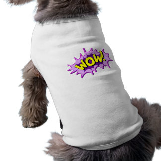 Wow comic doggie shirt