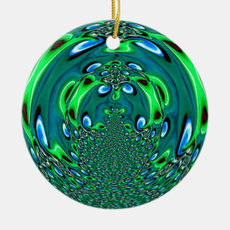 Wow Cool Green Ornament