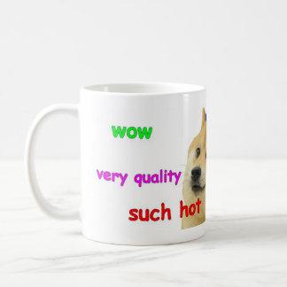 WOW doge mug