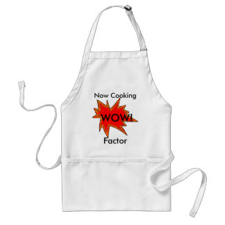 Wow Factor Cooking Chefs Cooks Baking Bakers Standard Apron