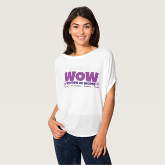 WOW flowy shirt