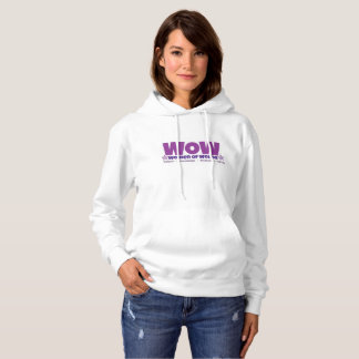 WOW hooded sweatshirt