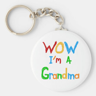 WOW I m a Grandma T-shirts and Gifts Key Chains