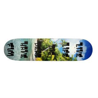 WOW Live LifeDie DeadHave Fun Skate Board Deck