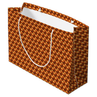 Wow Orange Large Gift Bag
