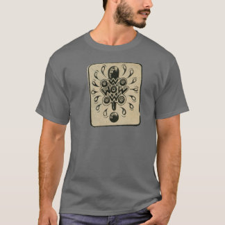 wow rick griffin hippy comix style T-Shirt