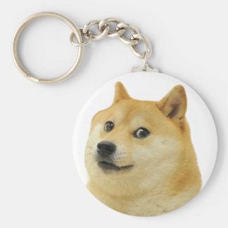 wow such shibe doge keychain