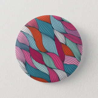wowen colorfull pattern 6 cm round badge