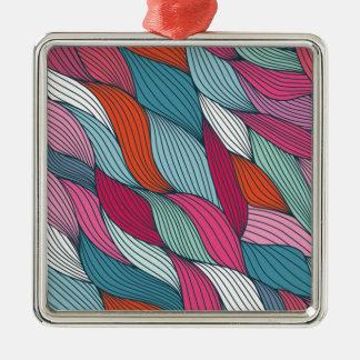 wowen colorfull pattern christmas ornament