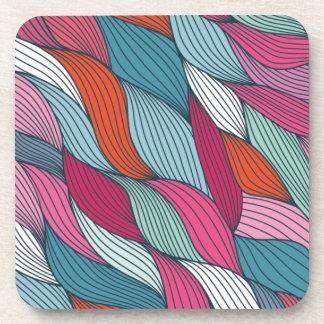 wowen colorfull pattern drink coaster
