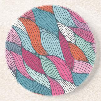 wowen colorfull pattern drink coasters